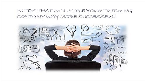 30 tips managing tutoring companies Part 1 Image