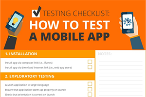 how to test a mobile app Image