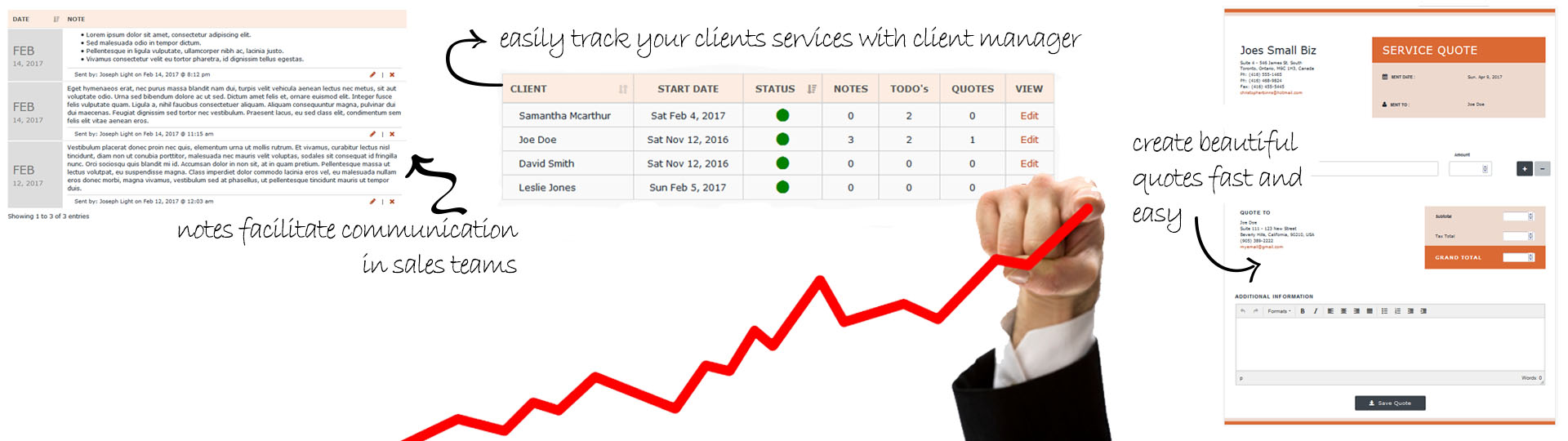 Client Relations Management for Tutor Agencies