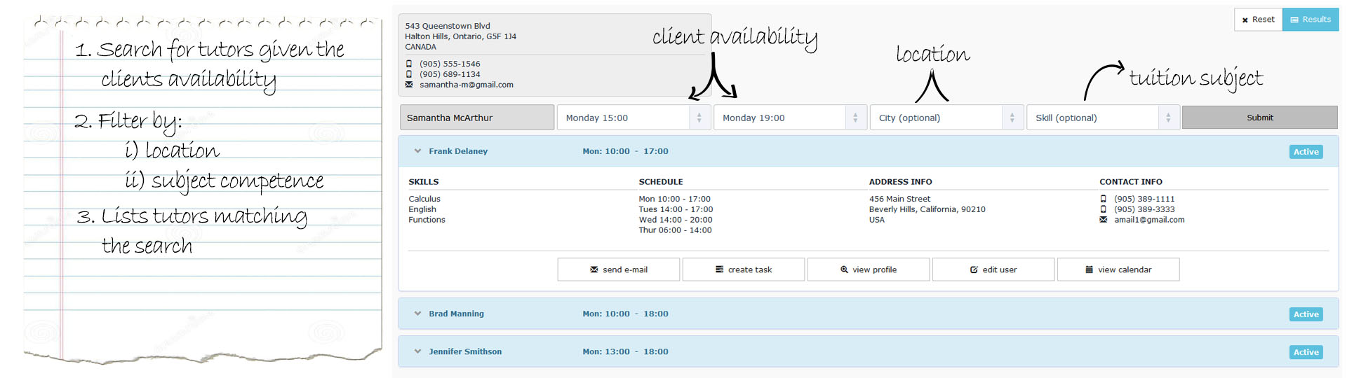 Scheduling Software for Tutoring Companies